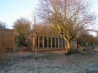 The hide at Tewin Orchard